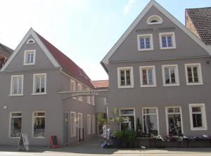 der atelierhof ehemals Hof Weickum auf der Seckenheimer Hauptstraße