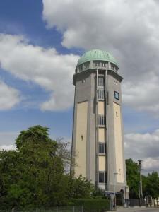 Wasserturm Aufzugsmuseum Lochbühler Wahrzeichen Seckenheim