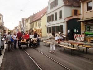 Straßenfest Seckenheimer Hauptstraße, Rouge et noir