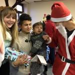 Nathalie Jacobi ujnd der Nikolaus von Perspektive Kinder