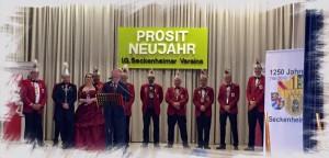Zabbe-Prinzenpaar, Natascha, Dominique, Sängerbund Seckenheim