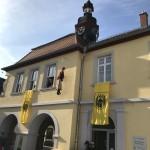 Kerweschlumbl am Seckenheimer Rathaus