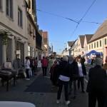 Buntes Treiben auf der Seckenheimer Hauptstraße
