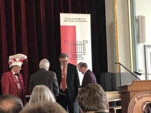 Andreas Hänssler erhält den Alfred Blümmel Orden 2019